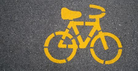 case Yellow Bike